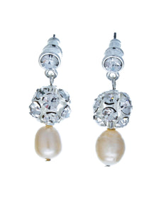 Audrey Earrings - Olivier Laudus Wedding Jewellery