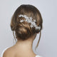 Brenda Swarovski Crystal Hair Comb - Olivier Laudus Wedding Jewellery