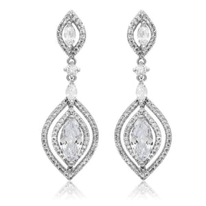 Celestina Earrings - Olivier Laudus Wedding Jewellery