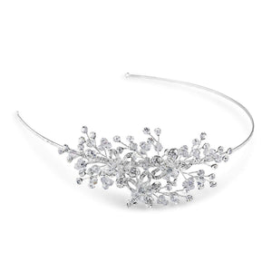 Clarence Side Tiara - Olivier Laudus Wedding Jewellery