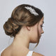 Daisy Crystal Silver Wedding Hair Comb - Best Seller! - Olivier Laudus Wedding Jewellery