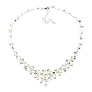 Elizabeth Necklace - Olivier Laudus Wedding Jewellery
