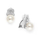 Emma Rose Gold Pearl Stud Earrings - Olivier Laudus Wedding Jewellery