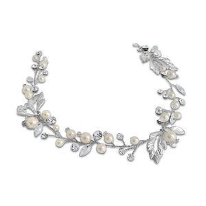 Fleur Pearl Hair Vine - Olivier Laudus Wedding Jewellery