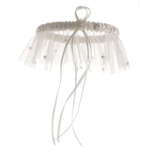 Helena Bridal Garter - Olivier Laudus Wedding Jewellery