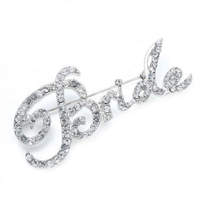 Jillian Bride Brooch - Olivier Laudus Wedding Jewellery