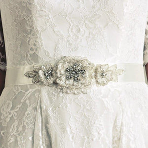 Joyce Jackson Dawlish Bridal Belt - Olivier Laudus Wedding Jewellery