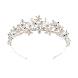 Juliette Tiara - Olivier Laudus Wedding Jewellery