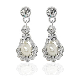 Kensington Earrings - Olivier Laudus Wedding Jewellery