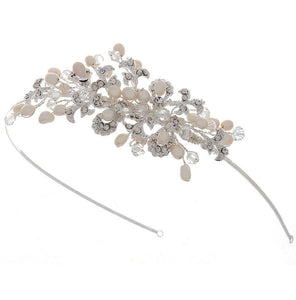 Kensington Side Tiara - Olivier Laudus Wedding Jewellery