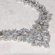 Lucia Simulated Diamond Necklace - Olivier Laudus Wedding Jewellery