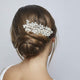 Monaco Freshwater Pearl and Crystal Hair Comb (best seller) - Olivier Laudus Wedding Jewellery