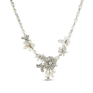 Papillon Freshwater Pearl Necklace - Olivier Laudus Wedding Jewellery