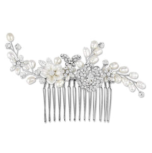 Papillon Hair Comb - Olivier Laudus Wedding Jewellery