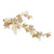Phoebe Rose Gold Plated Hair Clip - Olivier Laudus Wedding Jewellery
