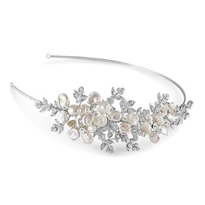 Sandringham Side headband - Olivier Laudus Wedding Jewellery