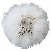 Vintage Glamour Hair Flower - Olivier Laudus Wedding Jewellery