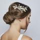 Vintage Gold Hair Comb - Olivier Laudus Wedding Jewellery
