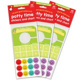 Potty Time Stickers & Chart: VALUE 3 PACK