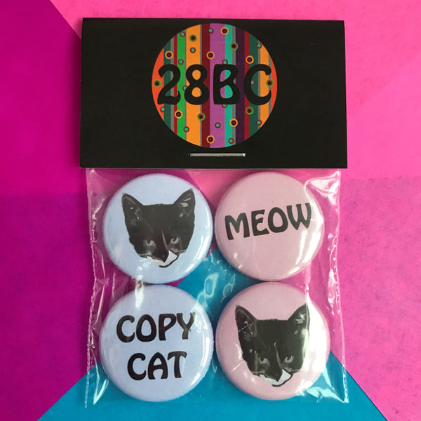 The Cats Whiskers Badge Pack