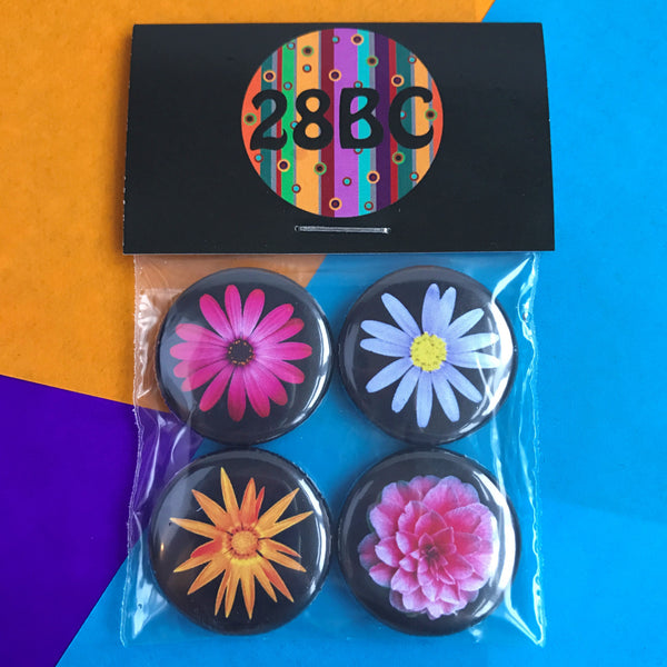 Flower Child Badge Pack