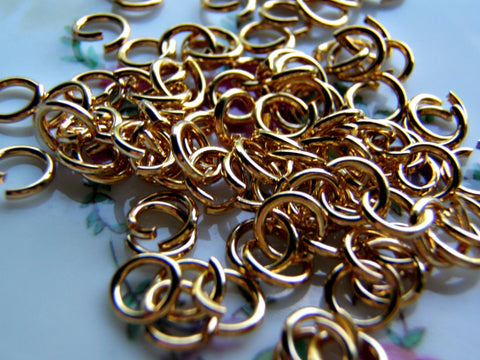 Antique Copper Cable Chain 2 mm One Foot (12 Inches) - Cigar Box Earrings and Supplies  - 1