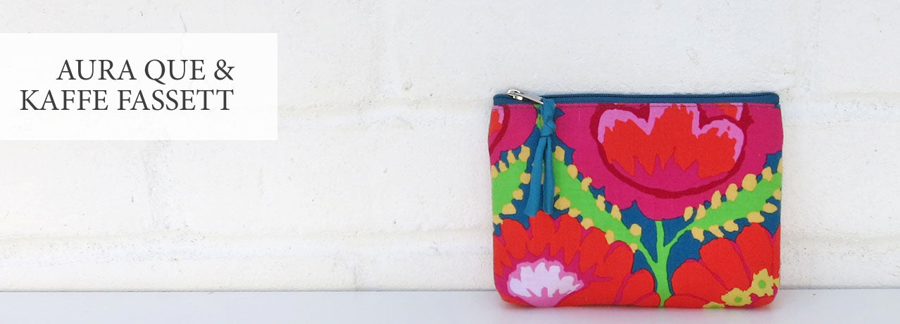 Shop for bags and purses by Aura Que and Kaffe Fassett at Mimosa Street
