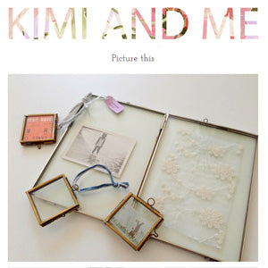Mimosa Street's Sari frames featured on the Kimi and Me blog