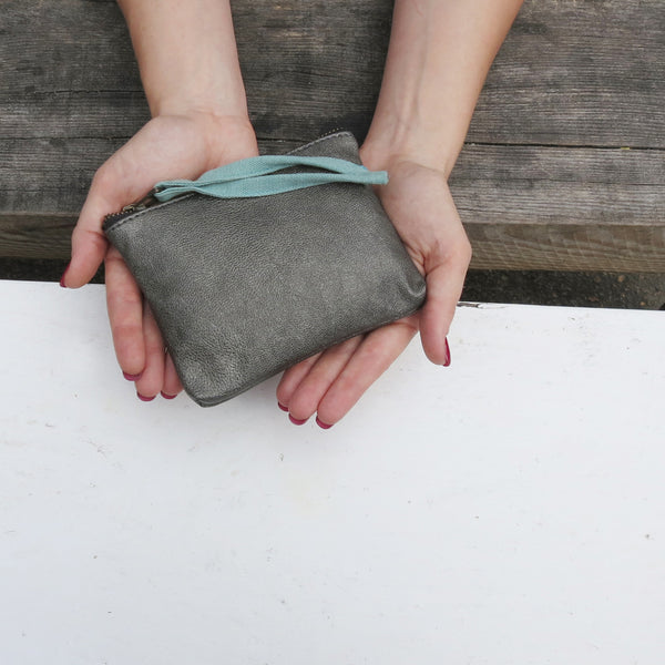 Vegan purse by Aura Que at Mimosa Street - vegan leather - handmade in Nepal