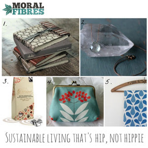 Mimosa Street products featured in the Moral Fibres blog