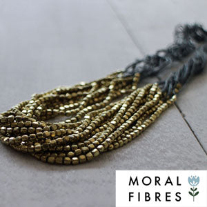 Ophelia bead necklace in Moral Fibres, Mimosa Street