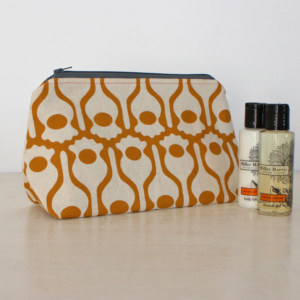 Poppy washbag by India Johnson, Greengage Studios