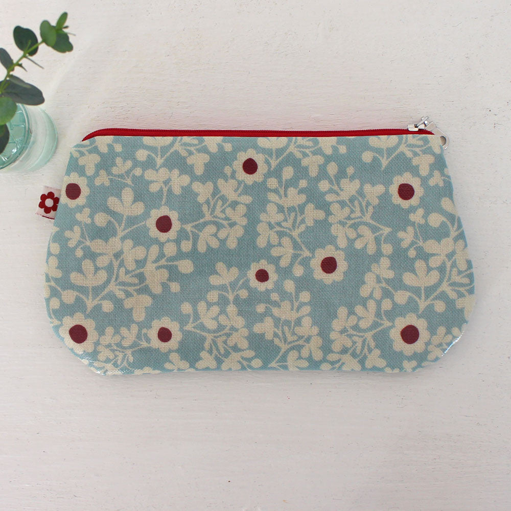 Constance oilcloth purse, vegan purses by Susie Faulks