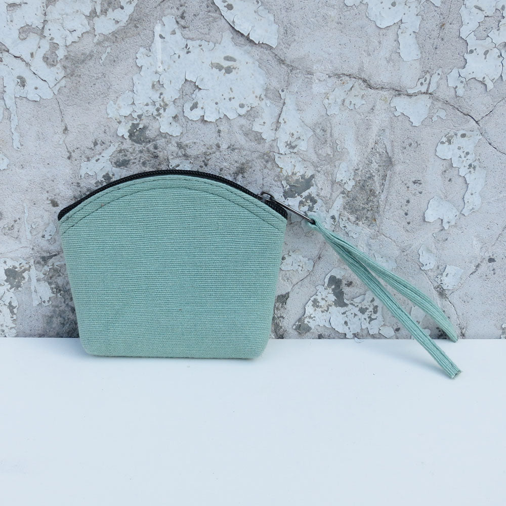 Diuso vegan coin purse in mint