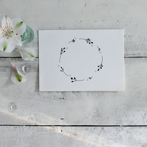 Seedhead Circle - exclusive print