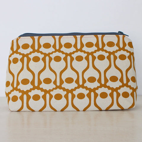 India Johnson's Poppy design - large Greengage Studios washbag