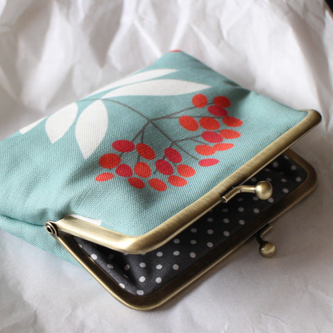 Martha clip purse