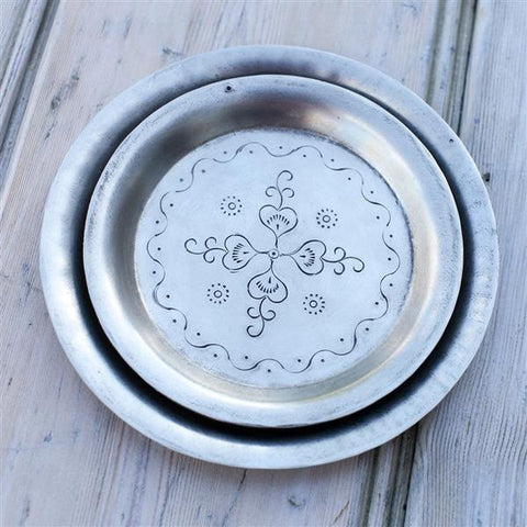 Hand-etched dish from Nkuku at Mimosa Street