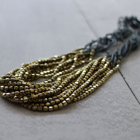 Ophelia bead necklace