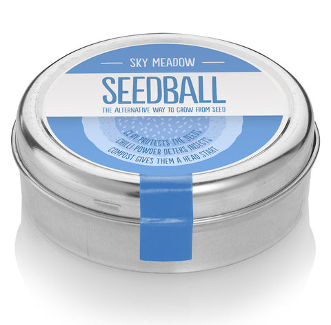 Seedball tin, Sky Meadow