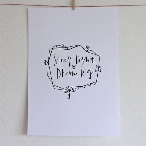 Dream print by Cheryl Rawlings