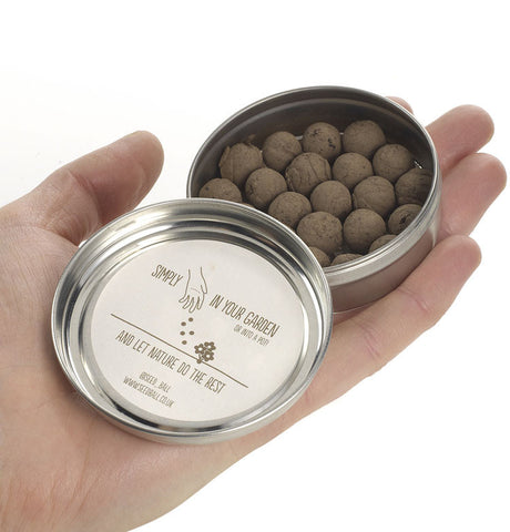 Seedball tin, Cloud Meadow