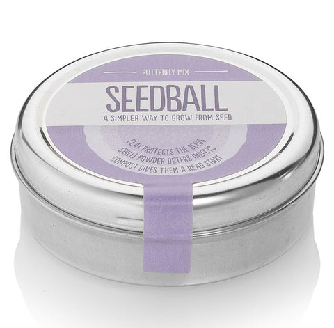 Seedball tin, Butterfly Mix