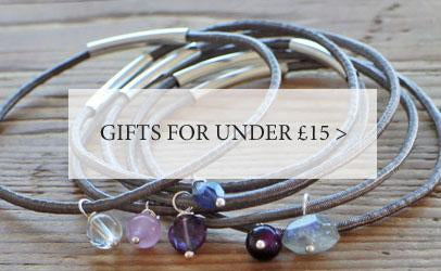 Gifts for under £15, including handmade jewellery and eco-friendly homeware