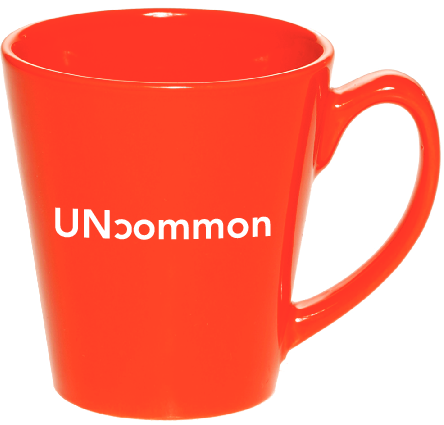 Orange UNcommon Coffee Mug