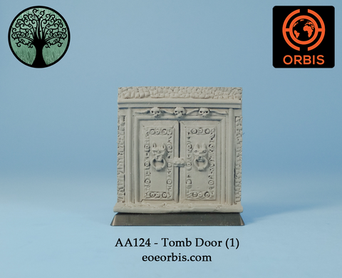 AA124 - Tomb Door (1)