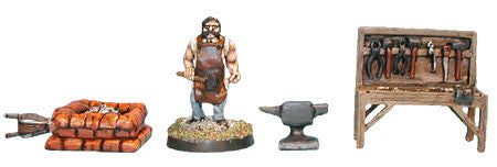 Blacksmith Workshop (1 set)