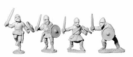 Viking Unarmoured with Swords (4)