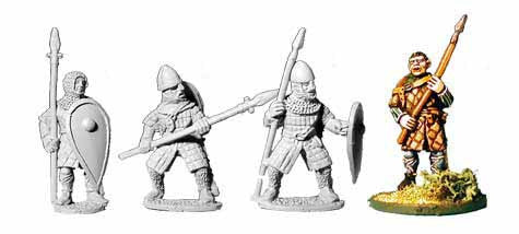 Norman Gambison Spearmen (4)