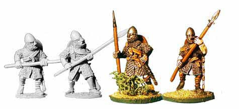 Norman Armoured Spearmen (4)